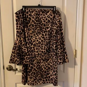 Vince Camuto Off the Shoulder Dress Size XL NWT
